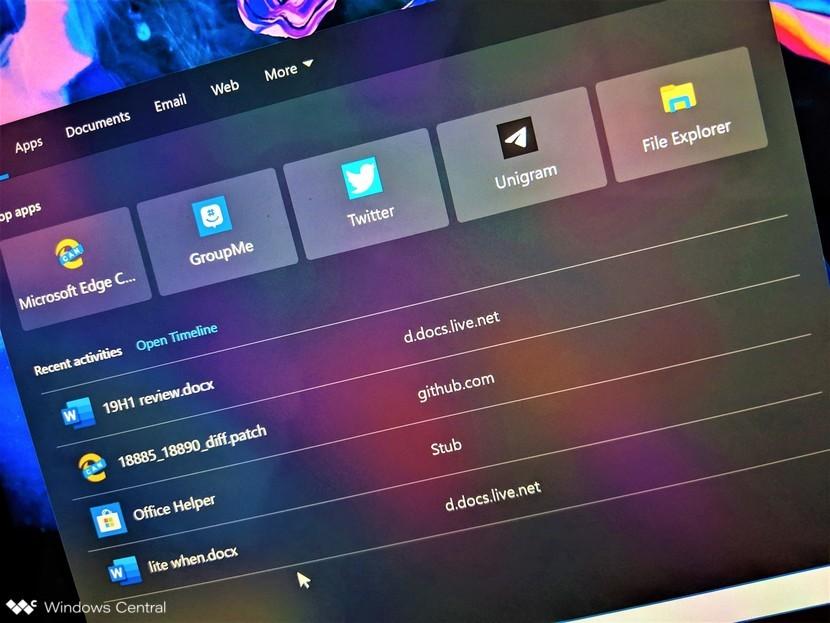 Windows 10 Pro Arama Çubuğu