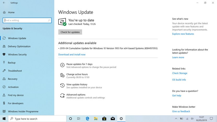 Windows 10 Pro Yeni Windows Güncellemesi